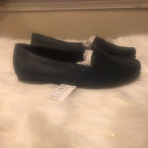 fa87db67 Heavenly Soles Navy Blue Flat Size 11 EEE